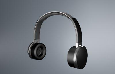 �^戴式立�w�耳�CC4D模型