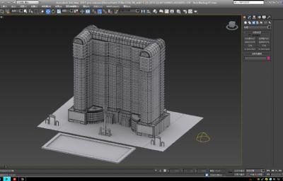 银河酒店max2015模型