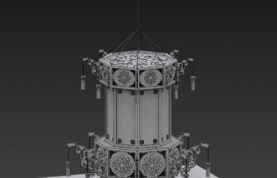 灯笼,宫灯max2015模型