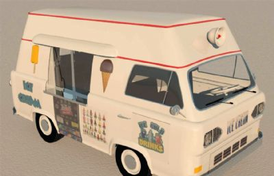 流�颖�淇淋��u�3DS模型