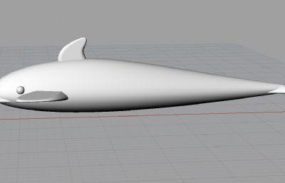 海豚��文P�-犀牛建模