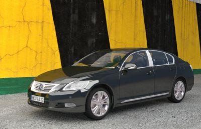 LEXUS雷克萨斯GS 450h OBJ模型