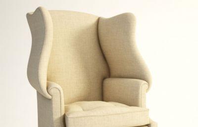 扶手椅max模型