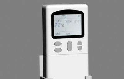 空调遥控器3DS模型