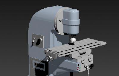 机械加工车床3DS模型