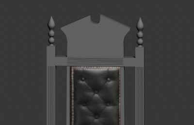 正规法官椅max2014模型
