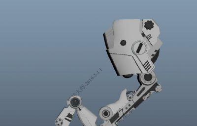 maya�C械臂模型,�C械手