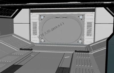 科幻��茸呃冗^道maya模型