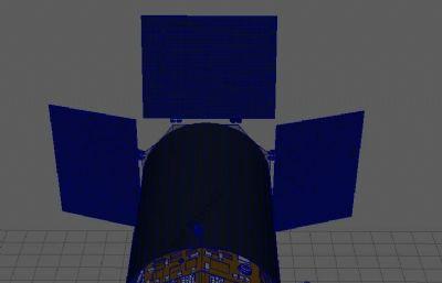 maya�l星模型,redshift渲染