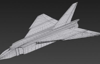 F-105飞机max模型