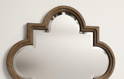 镜子,梳?#26412;�max模型