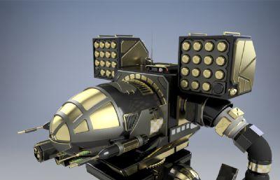 �C甲�鹗�,巡查兵3D�D�,STP模型