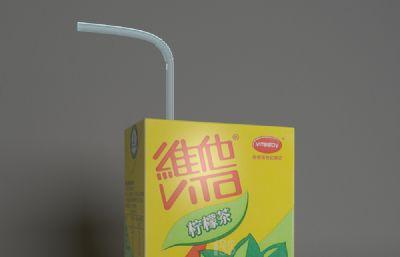 �����S他��檬茶�盒�料3D模型,max,fbx�煞N格式