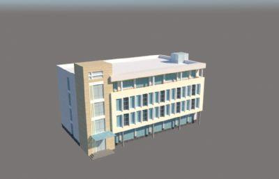 厂房,医院大楼su模型