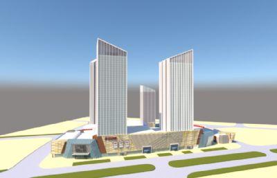 万达广场整体设计