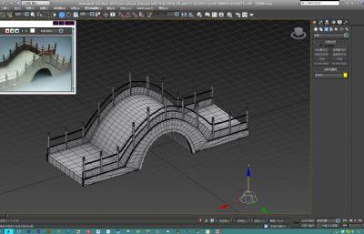 石拱��max2015模型