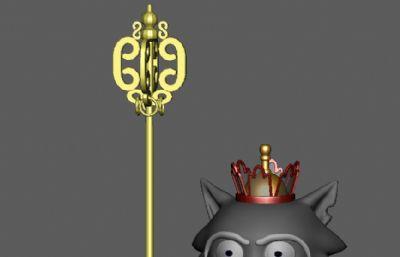 唐三藏版灰太狼,灰大师,高僧maya模型