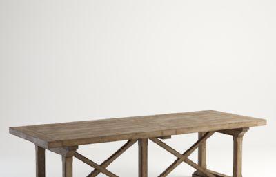 茶几,桌子,餐桌max模型