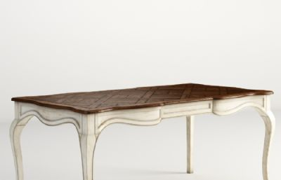 欧美风餐桌桌子