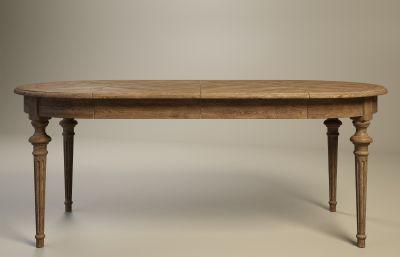 桌子,�E�A形餐桌