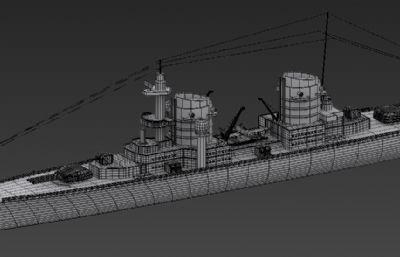 重型巡洋舰,二战军舰