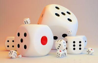 C4D骰子模型