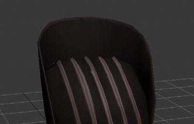 盛唐文官帽子,官帽max模型