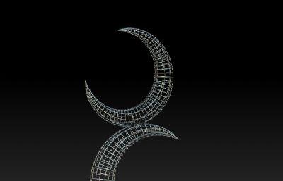 �p月�R天雕塑�O�