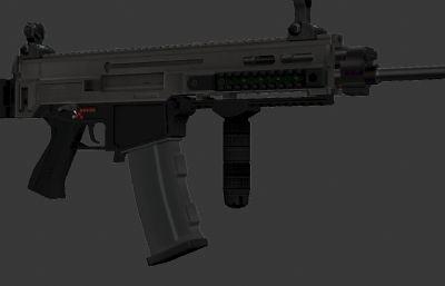 �Х��次世代AK47 3d模型