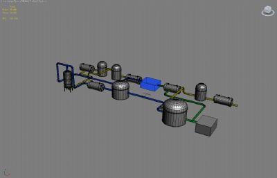 石油工�S光�模型01