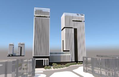 集团大厦,公司商业办公楼