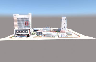城市商场,商业大楼综合体