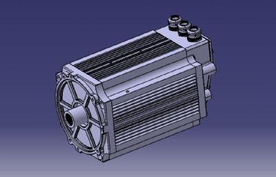 15KW永磁同步�L冷��C,���CSTEP模型