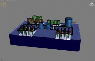 光�沙�Pmax模型