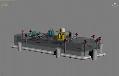 三采地面设备--互动展项