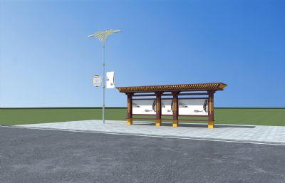 藏式路�艉凸�交站