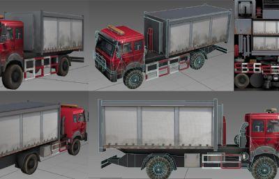 货车,消防车max模型