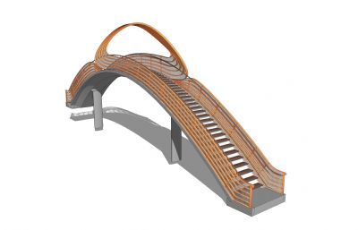 造型拱��su模型