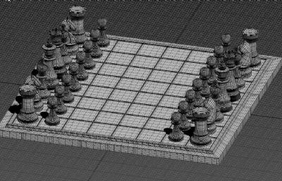 国际象棋max白模