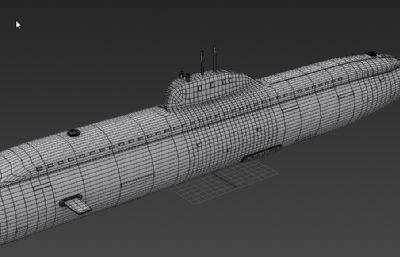 俄罗斯维克托级核潜艇