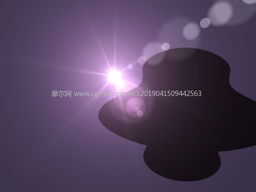 maya太阳光背光特效源文件
