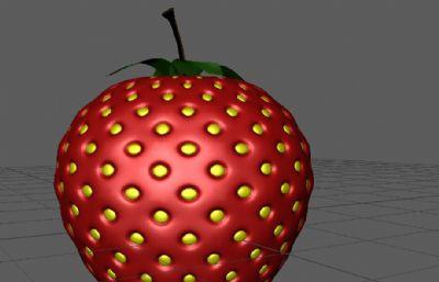 草莓maya2017模型