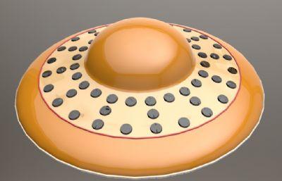 UFO飞碟max模型