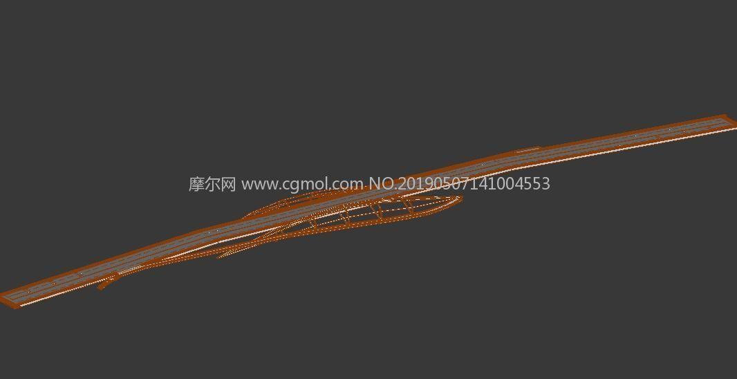 天津金阜桥max模型
