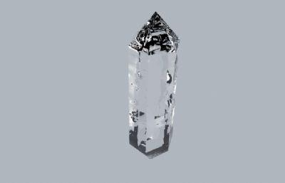 水晶C4D模型