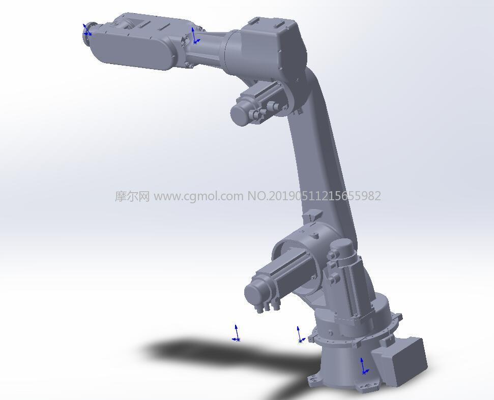 六轴机器人模型,STEP格式