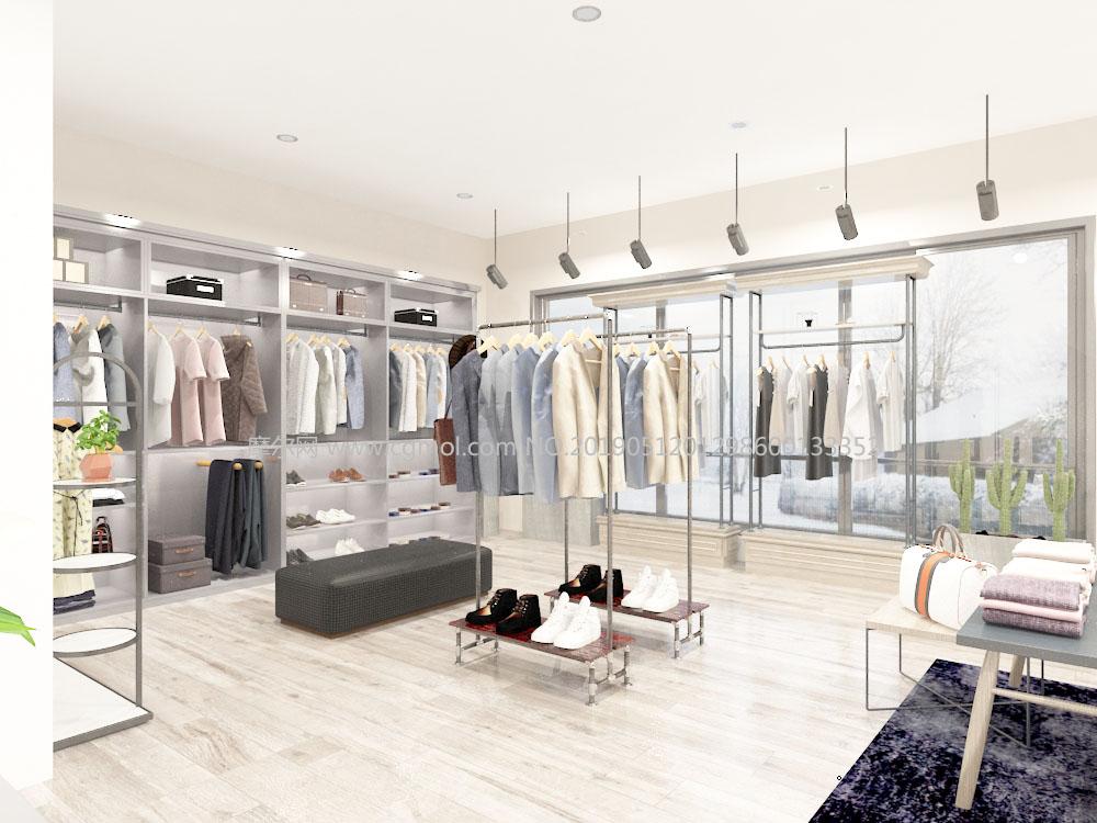 服装店,男女成人品牌店,专卖店Max模型(网盘下载)