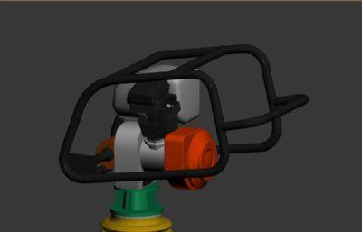 夯实机max2012模型