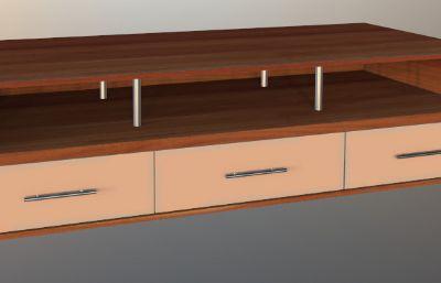 置物�_,小��柜max模型