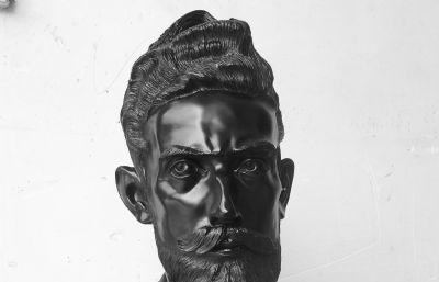 Maurits Cornelis Escher莫里茨・科�壤�斯・埃舍��雕像,max,stl,obj三�N格式